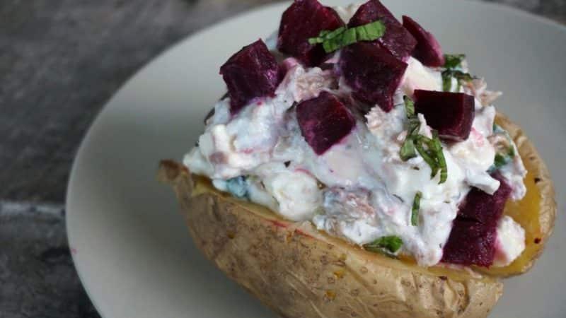 tinned tuna baked potato recipe