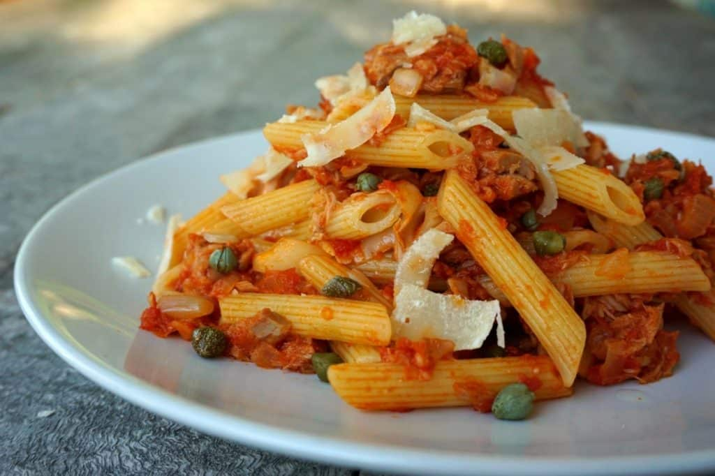 tinned tuna pasta recipe