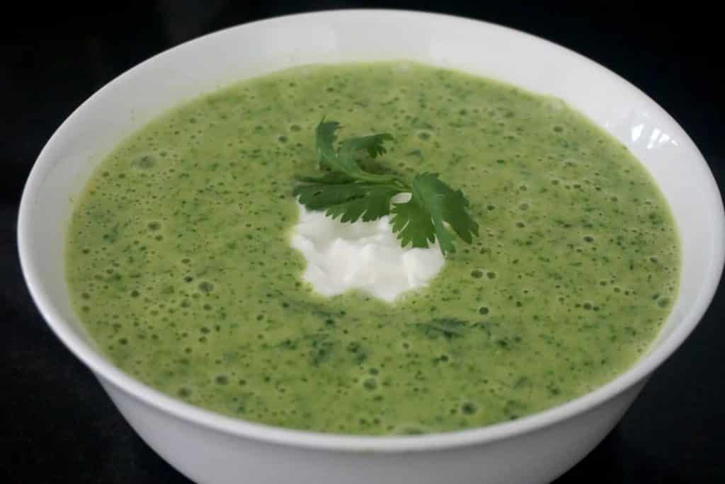 Cress And Kale Soup