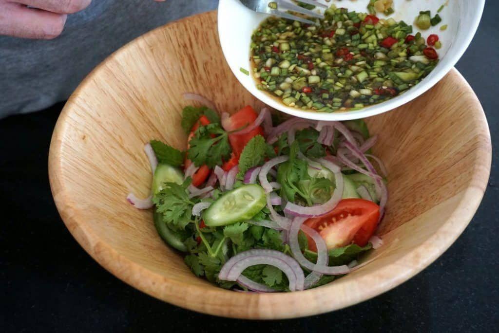 Rare Thai Style Salad recipe