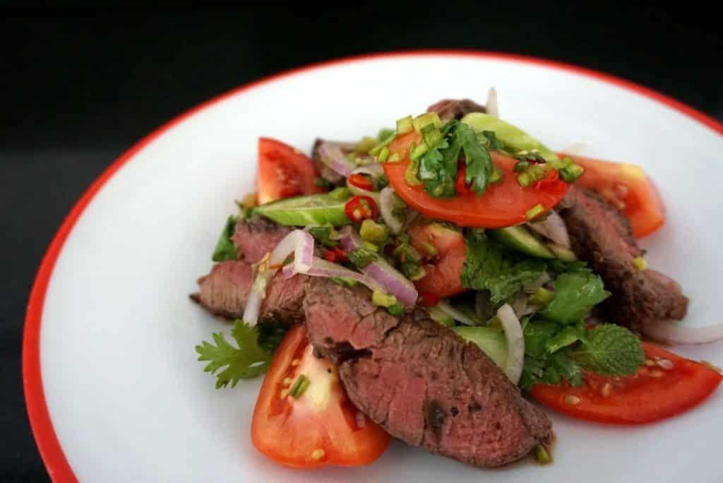 Rare Thai Style Salad