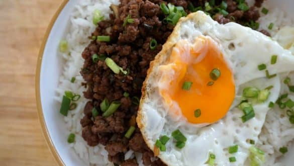 Korean Beef Bibimbap Bowl