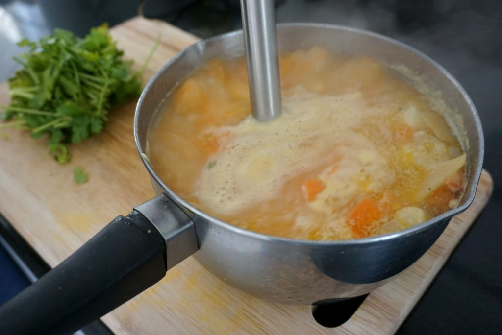 Ginger And Coriander Soup