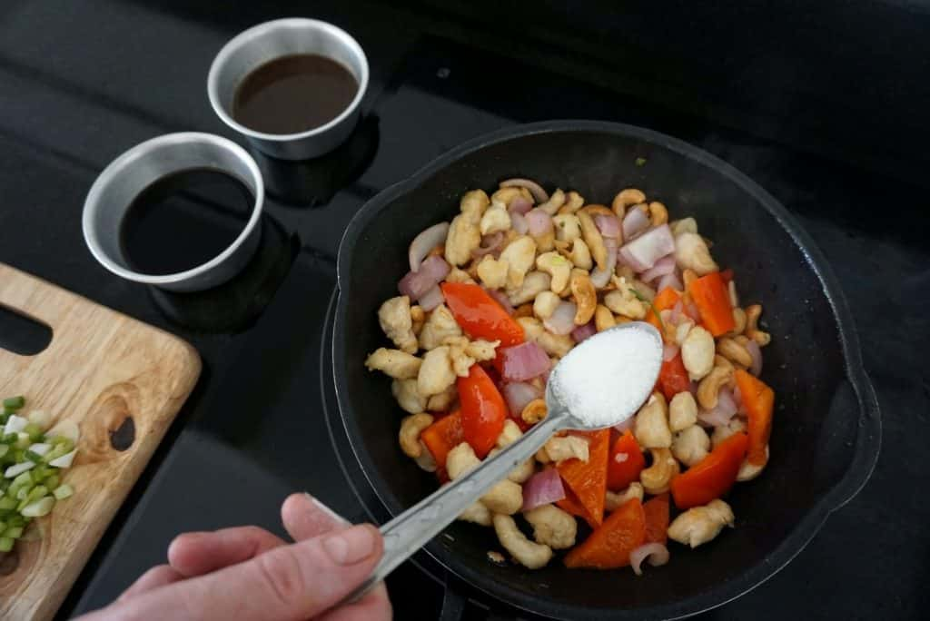Chicken With Cashew Nuts sugar