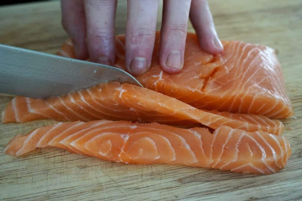 Tangy Salmon Ceviche