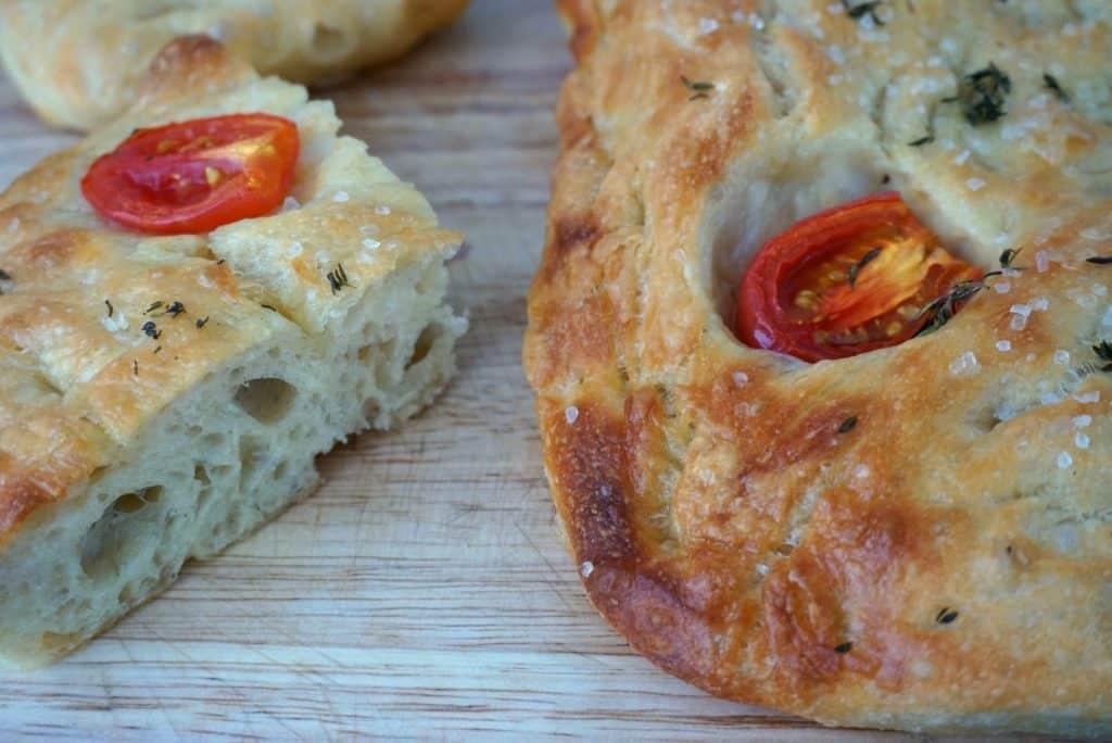 Tomato And Thyme Focaccia