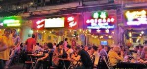 food districts Hong Kong