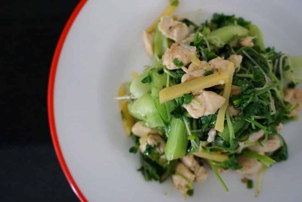 Post Gym Stir fry recipe