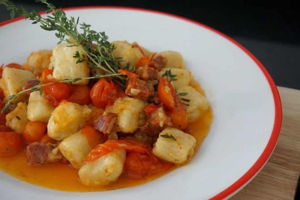 Spicy Sausage Gnocchi