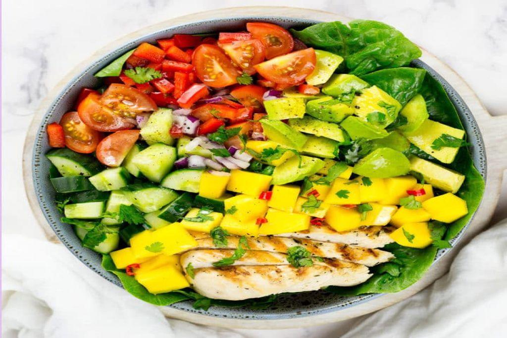 Cajun Chicken And Mango Salad