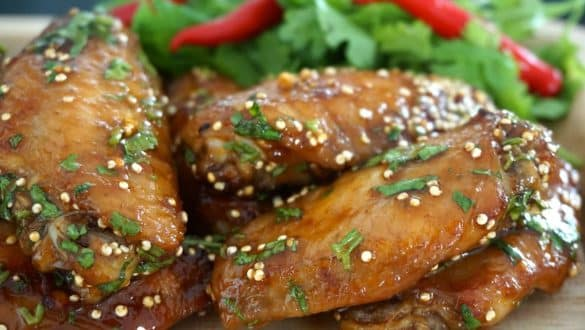 Korean Style Chicken Wings soy sauce