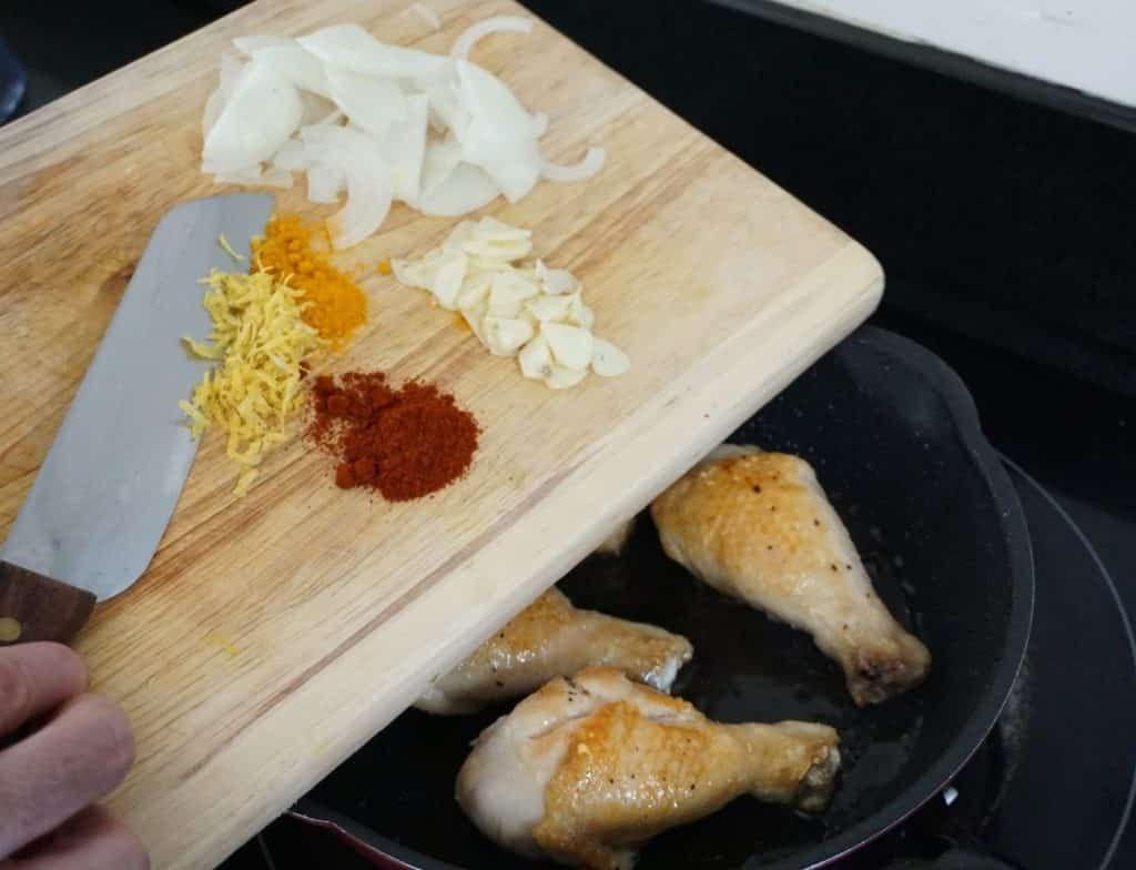 Chicken Drumstick One Pot