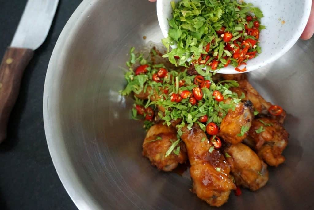 Hot Baked Chicken Wings recipe