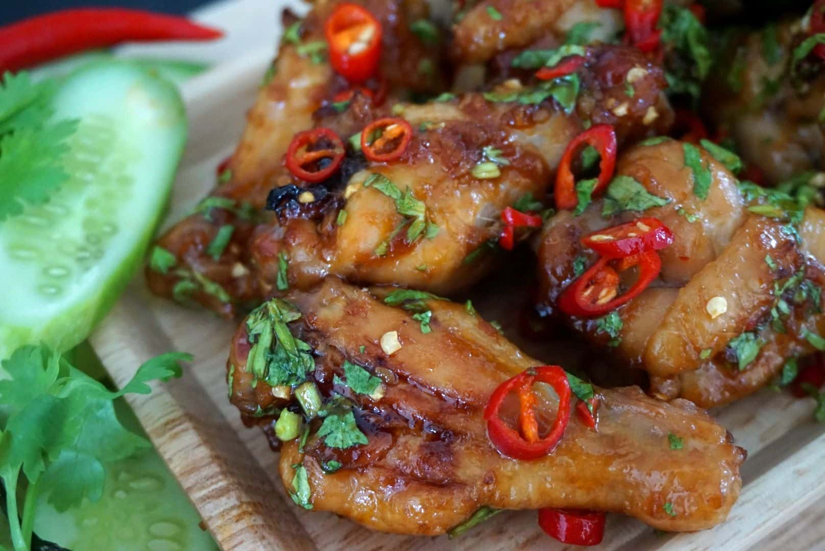 Hot Baked Chicken Wings