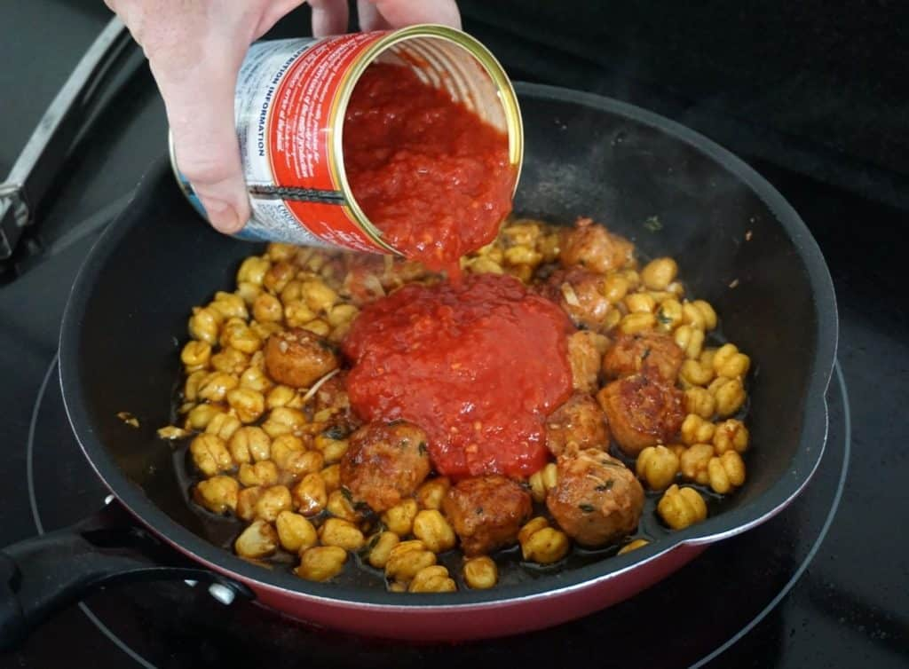 Sausage And Chickpea Stew recipe