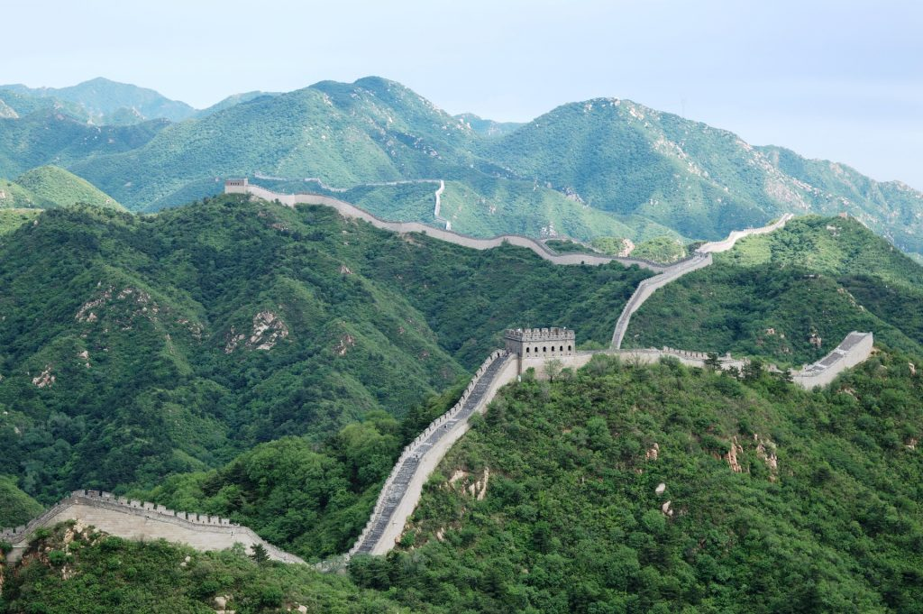 facts about great wall of china