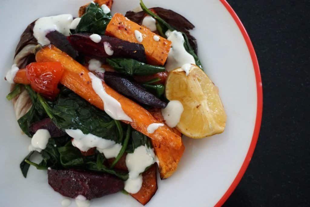 Rainbow Roasted Vegetables recipe