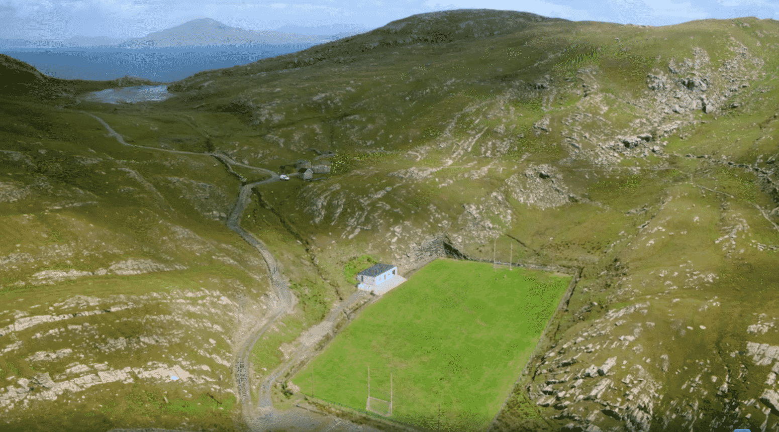 Most Scenic Football Pitches Ireland