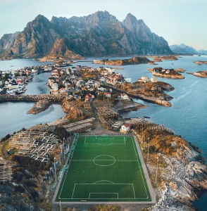 Most Scenic Football Pitches