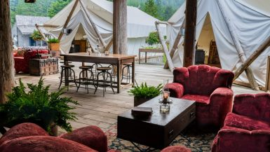 Glamping In Canada
