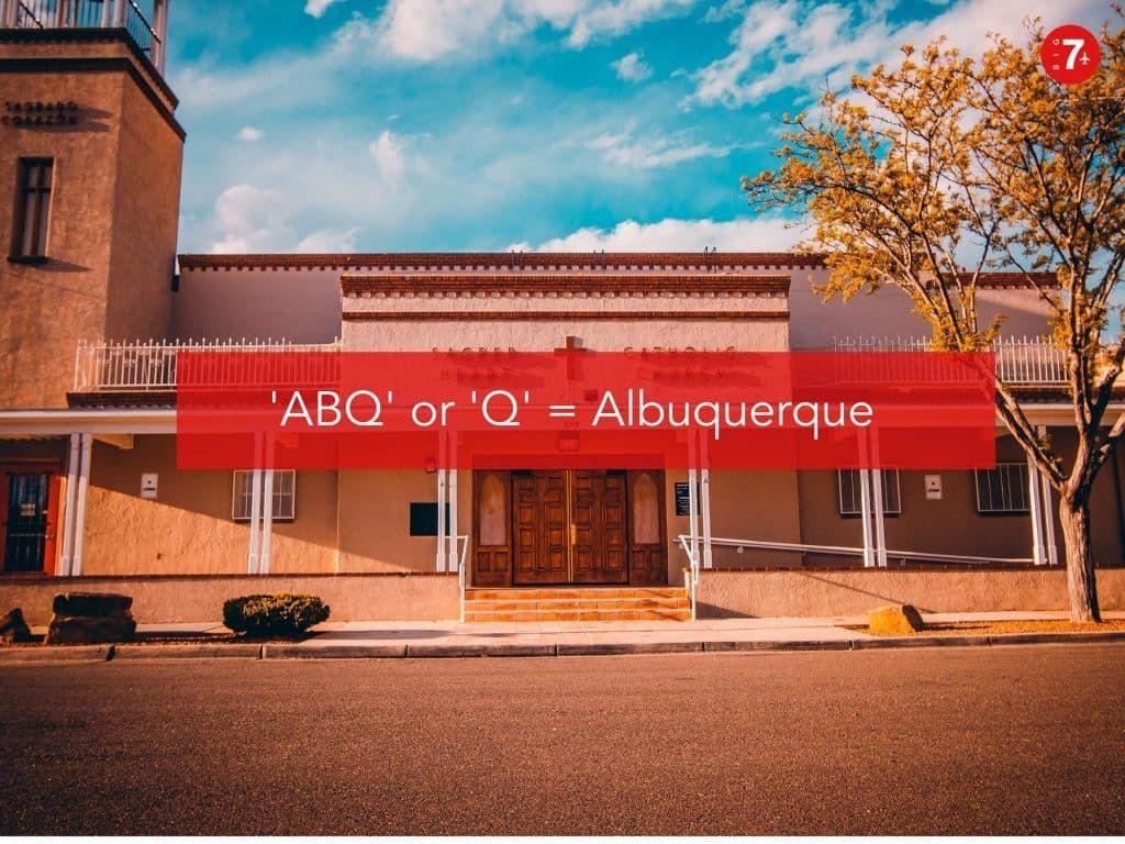 New Mexico slang