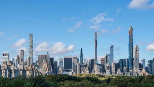 skyline views New York