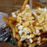 poutine in Quebec