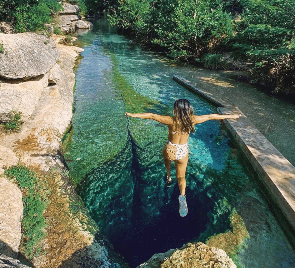 Swimming Holes in Texas