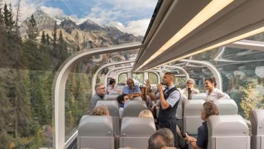 train trips Canada