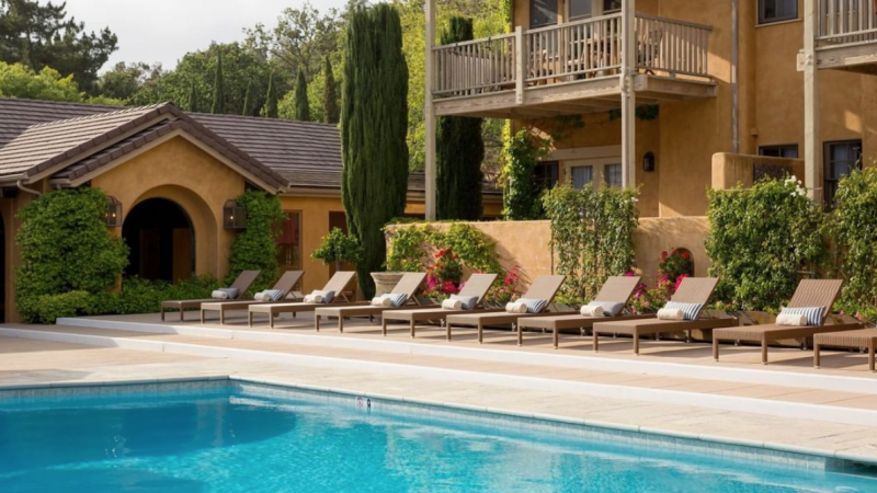 winery hotels California