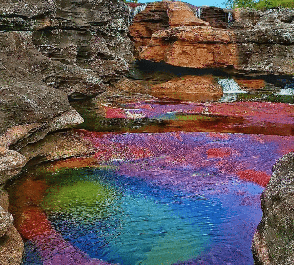 Coloured Lakes & Rivers