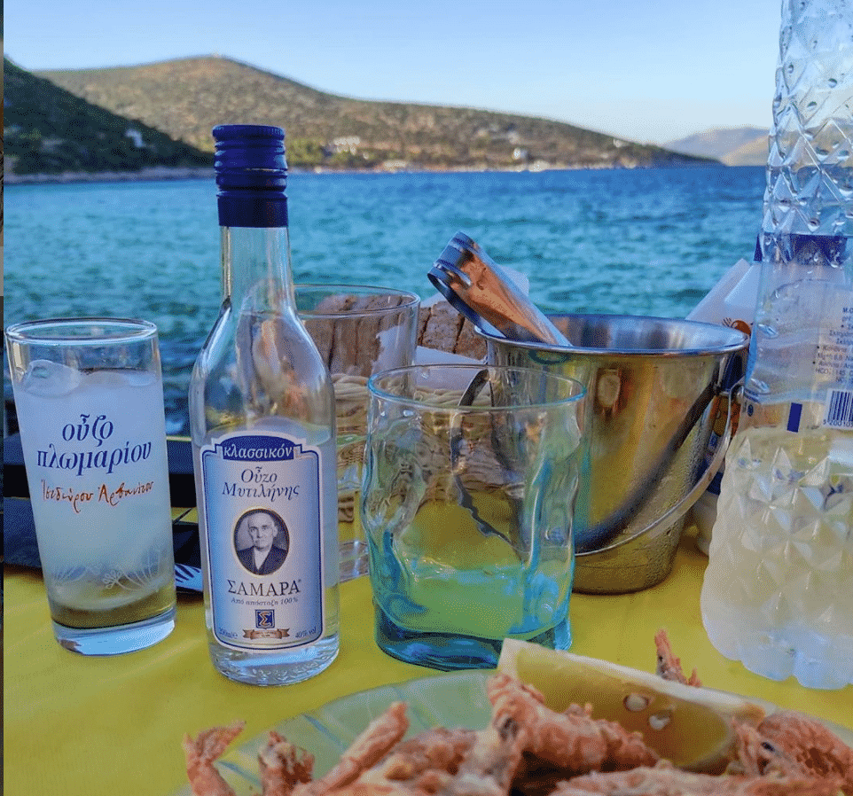 Greek drinks