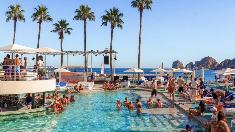 Instagrammable beach clubs Europe