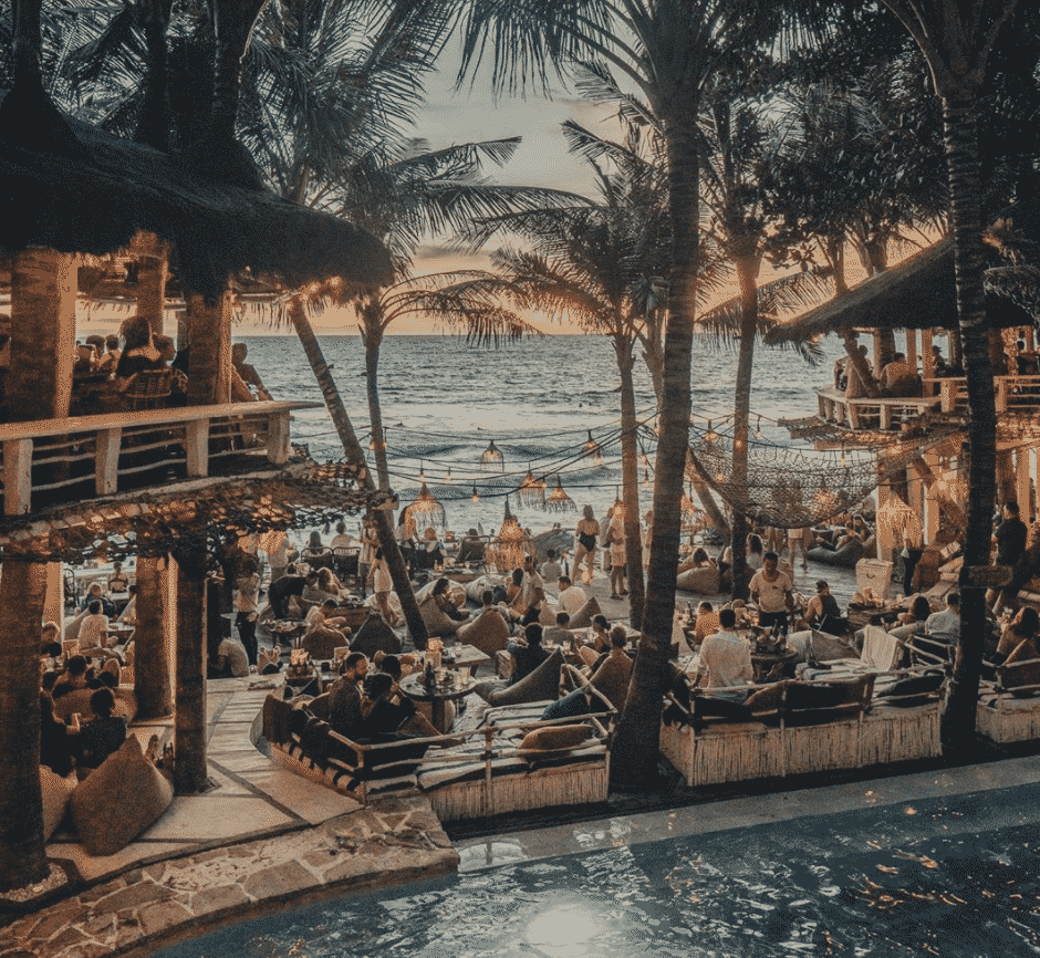 Instagrammable beach clubs world