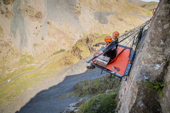 Cliff Camping Experience