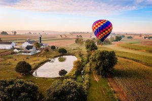 hot air balloon pennsylvania