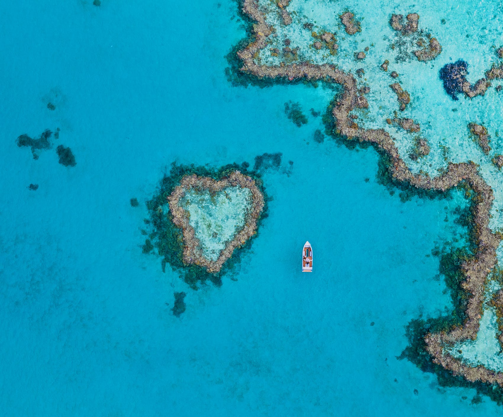 Australia Heart Reef