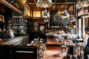 Locande Verde NYC outdoor dining