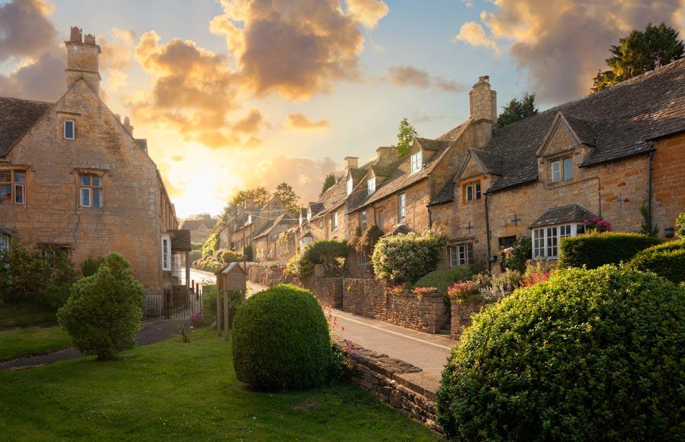 prettiest villages cotswolds
