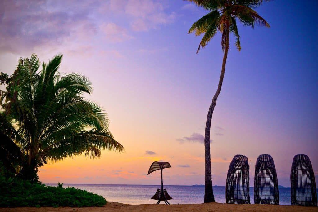 private island resort bubble