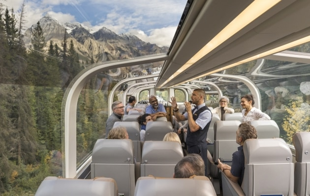 rocky mountaineer trips