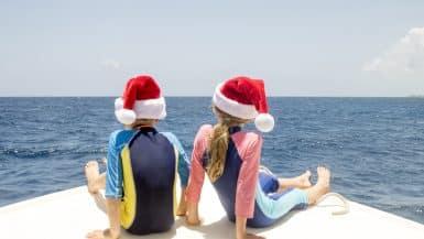 Christmas yacht charter