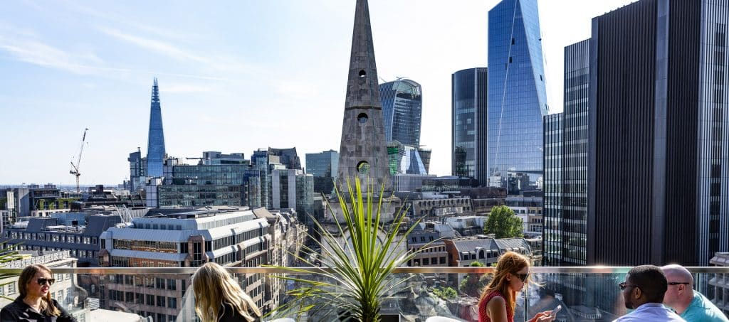 best rooftop bars london