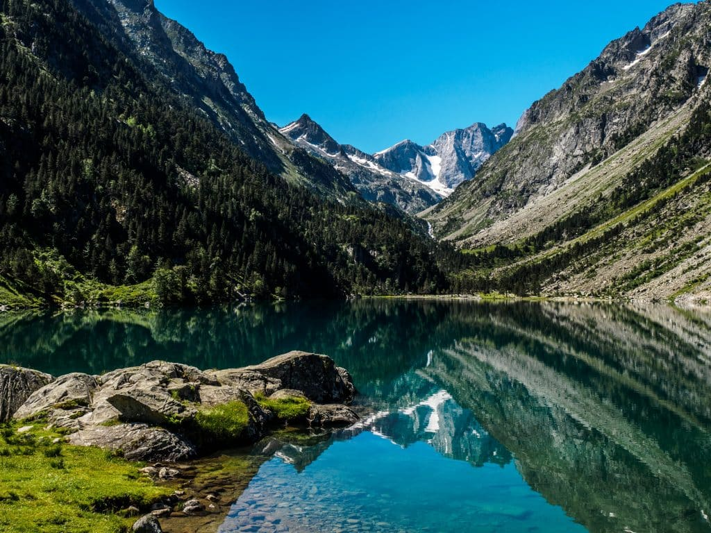 One of the most beautiful lakes in France Lake Gaube
