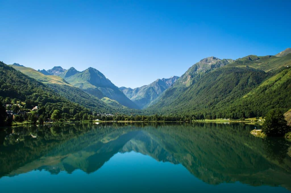 Lac de Genos-Loudenvielle is one of the most beautiful lakes in France