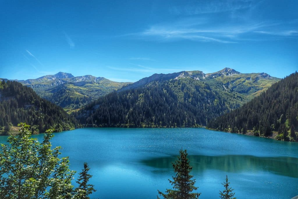 Lac st Guérin is one of the most beautiful lakes in France