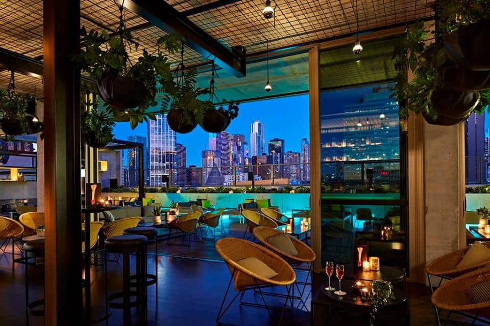QT Rooftop Bar Melbourne