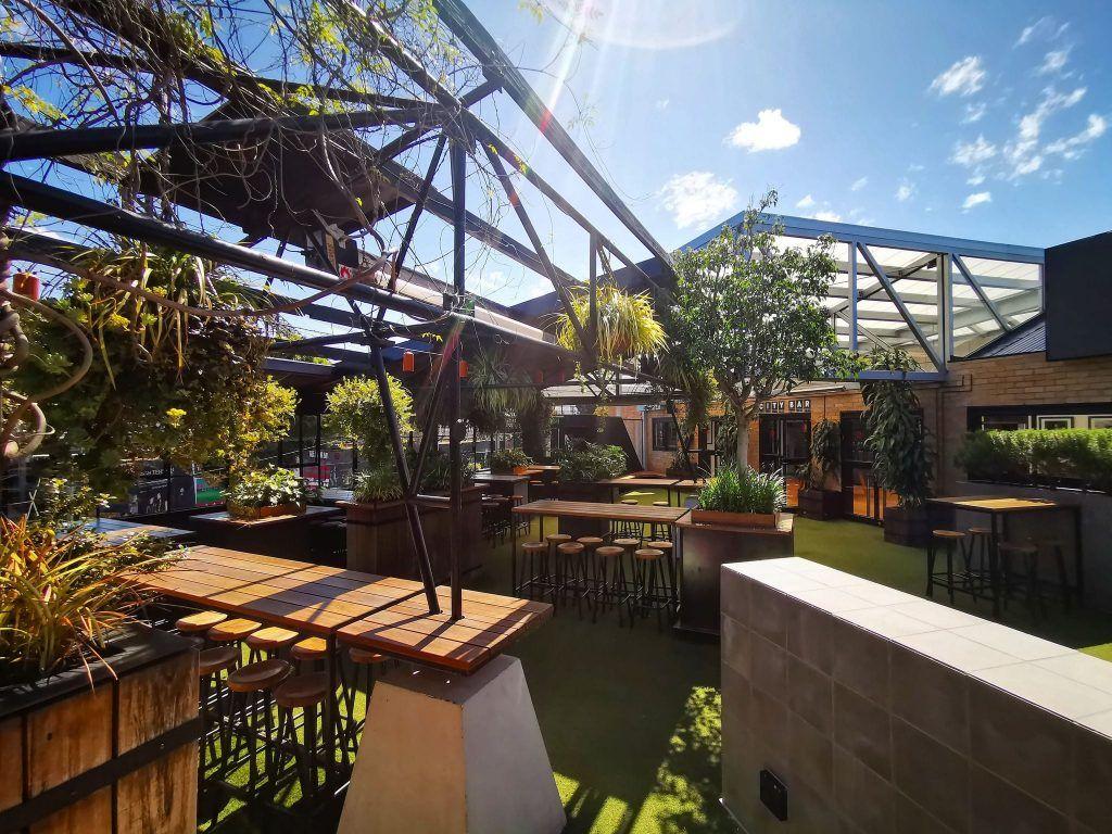 Corner Hotel Rooftop Bar Melbourne