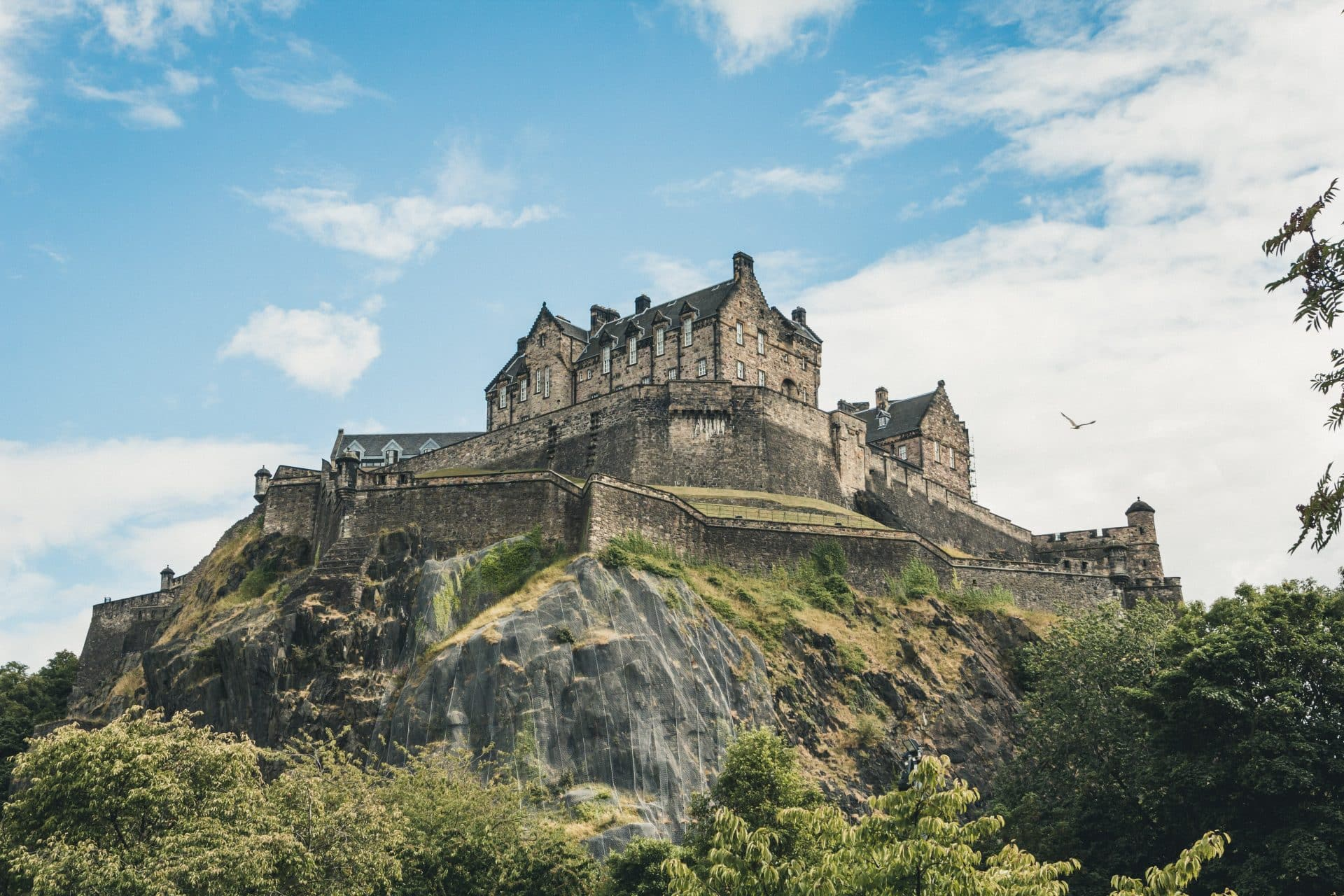 Things Edinburgh is famous for include Edinburgh Castle
