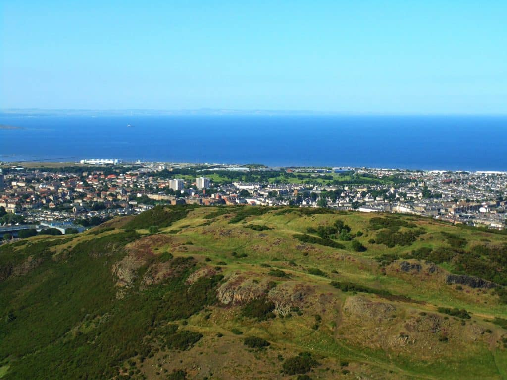 Things Edinburgh is famous for include Arthur's Seat